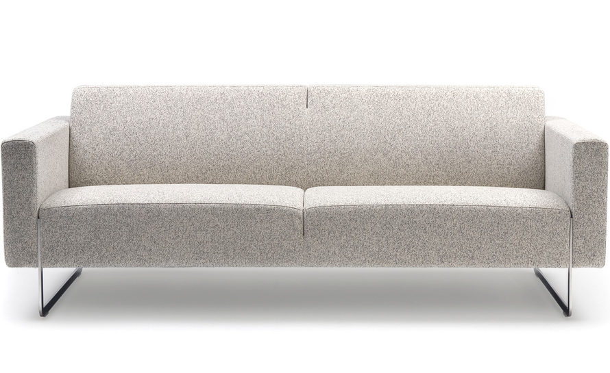 mare 2-seater sofa with fixed cushions