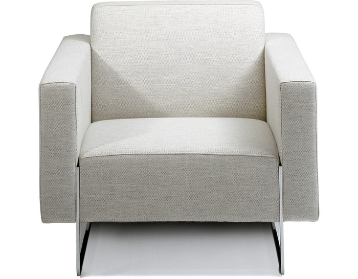 mare lounge chair with fixed cushions