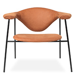 masculo 4 leg lounge chair  - gubi
