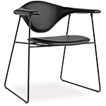 masculo sled base chair  - gubi