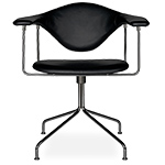 masculo swivel base chair  - gubi