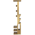 mass coat stand brass  -