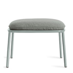 mate outdoor ottoman  - blu dot