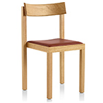 mattiazzi primo chair with upholstered seat - Konstantin Grcic - mattiazzi