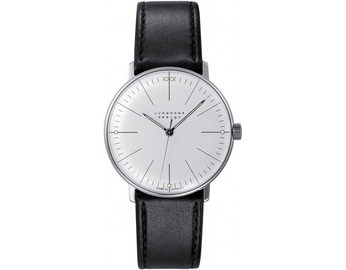 max bill manual wrist watch - lines