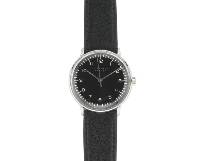 max bill manual wrist watch - numbers