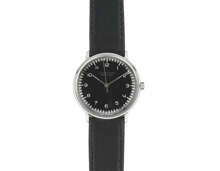 max bill manual wrist watch - numbers