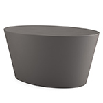 maya lin stones polyethylene coffee table  -