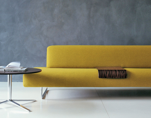 Two Seat Cloud Sofa With Backrest Hivemodern Com