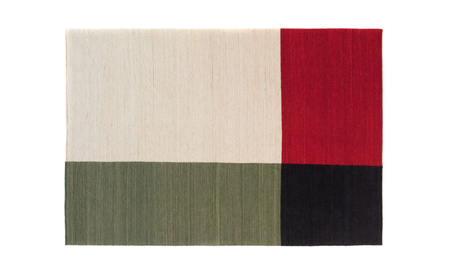 melange color 1 rug