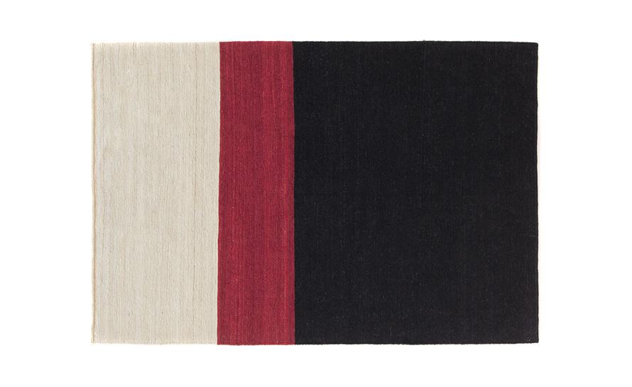 melange color rug