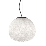 meteorite suspension lamp  -