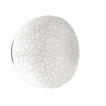 meteorite wall/ceiling light  - Artemide
