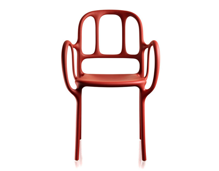 magis mila stacking chair two pack