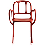 magis mila stacking chair two pack  -