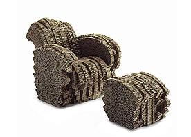 Miniature Gehry Little Beaver Chair
