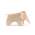 miniature plywood elephant - Eames - vitra.