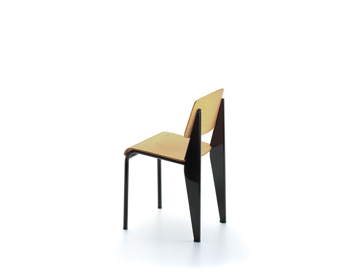 miniature jean prouve standard chair. Black Bedroom Furniture Sets. Home Design Ideas