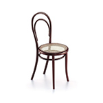 miniature thonet chair no. 14  -