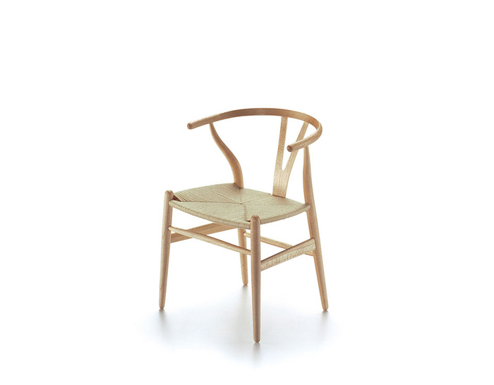 miniature wishbone chair
