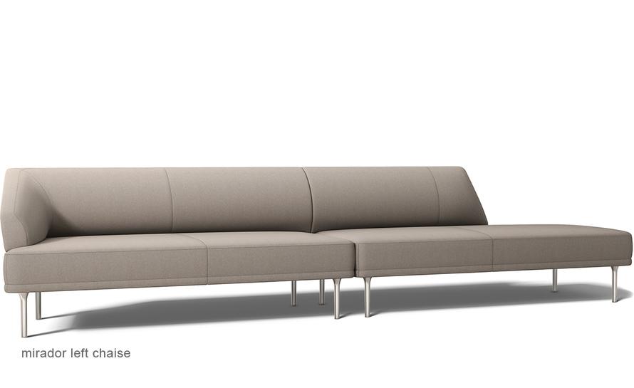 Mirador chaise sofa for Bernhardt chaise