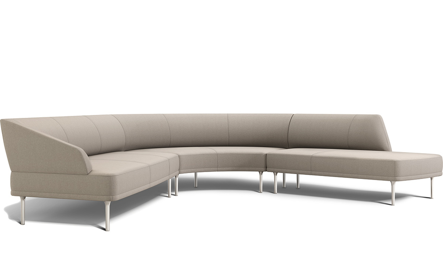 mirador u-shape sectional sofa