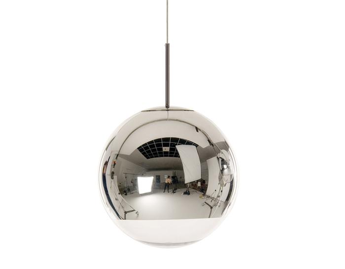 Mirror ball pendant light hivemodern mirror ball pendant light aloadofball Choice Image