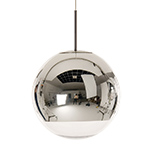mirror ball pendant light  -