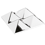 panton mirror sculpture 4 pyramid  -