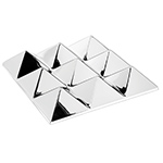 panton mirror sculpture 9 pyramid  -