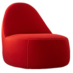 mitt lounge chair  - Bernhardt Design