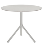 miura fixed round table - Konstantin Grcic - Bernhardt Design + Plank