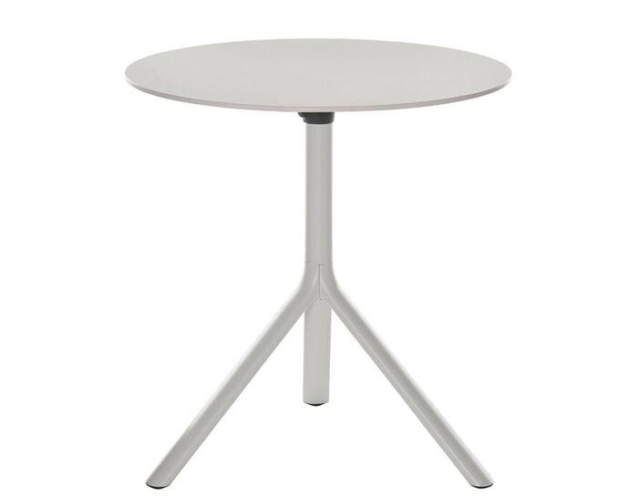 miura round folding table