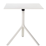 miura square folding table - Konstantin Grcic - Bernhardt Design + Plank