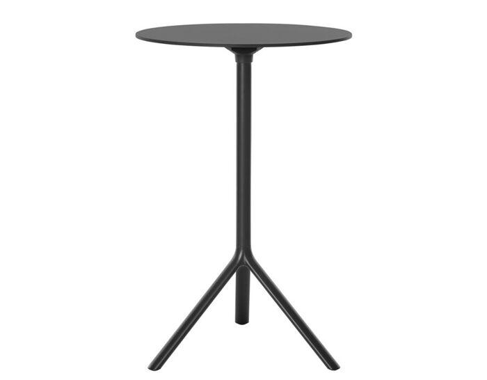 miura tall round folding table