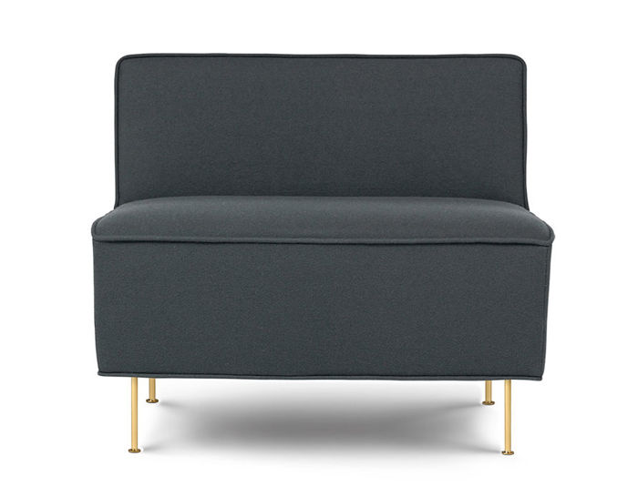 modern line low lounge chair