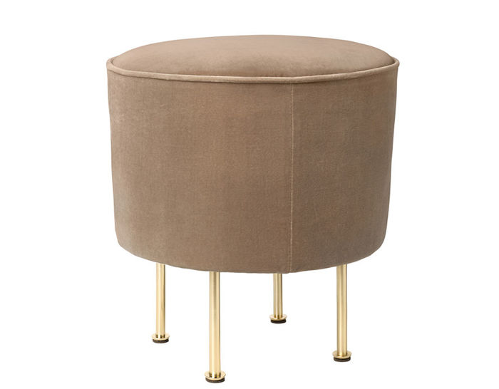 modern line small pouf. Black Bedroom Furniture Sets. Home Design Ideas
