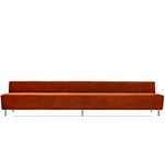 modern line dining height sofa 350 - greta grossman - gubi