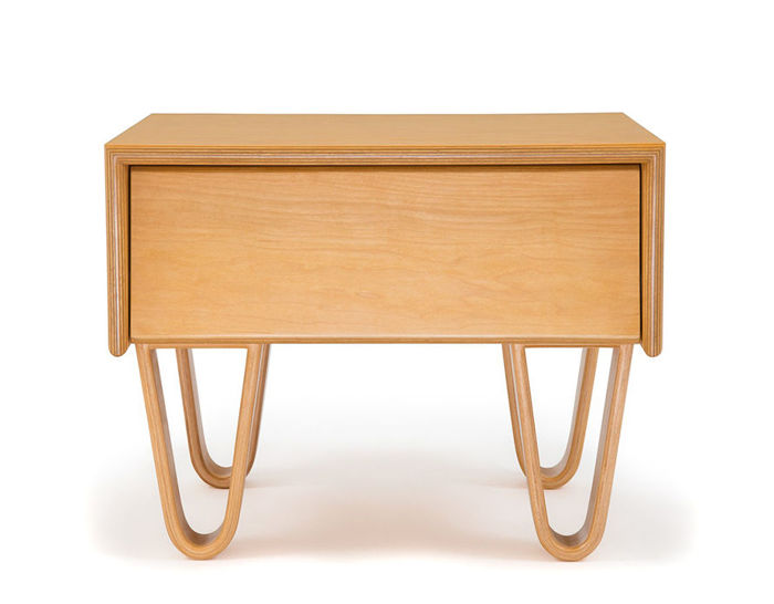 modernica case study® bentwood bedside table
