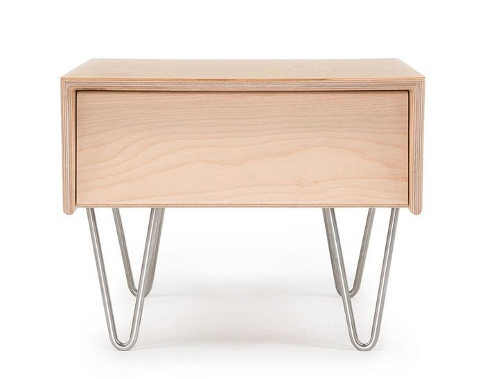 modernica case study v-leg bedside table