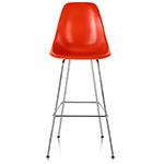 eames® molded fiberglass stool  -