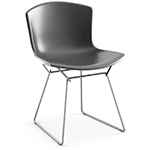 bertoia molded shell side chair  -