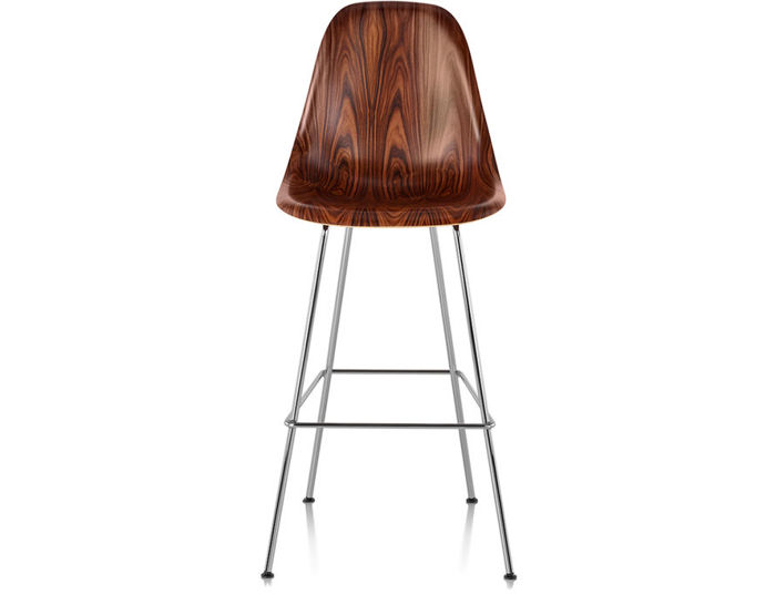 eames® molded wood stool