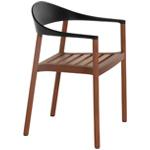 monza armchair outdoor - Konstantin Grcic - Bernhardt Design + Plank