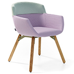 mood wood frame chair - Rene Holten - artifort