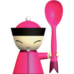 mr. chin egg cup - S. Giovannoni - Alessi