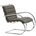 mr lounge chair with arms - Ludwig Mies Van Der Rohe - Knoll