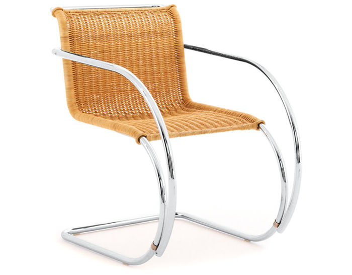 mr rattan arm chair