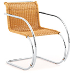 mr rattan arm chair - Ludwig Mies Van Der Rohe - Knoll