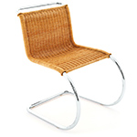 mr rattan side chair - Ludwig Mies Van Der Rohe - Knoll